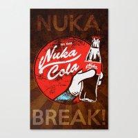 Nuka Break! Canvas Print