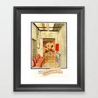 Un Regal Pour Les Yeux Framed Art Print