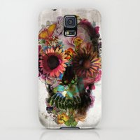 Galaxy S5 Cases featuring SKULL 2 by Ali GULEC
