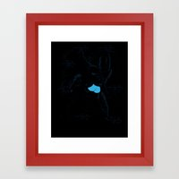 Exposed Ninja   Framed Art Print