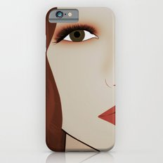 Red Head from Another Dream iPhone 6 Slim Case