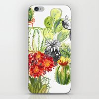 C Is For Cacti iPhone & iPod Skin
