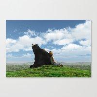 Cloud Watchers Canvas Print