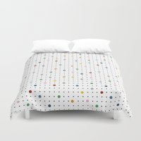 Pin Points Repeat Duvet Cover