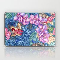 Orchid Splash Laptop & iPad Skin