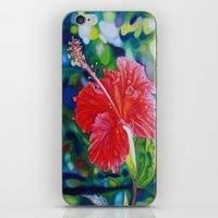 Tropical Hibiscus iPhone & iPod Skin