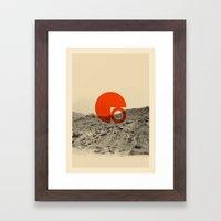 Symbol of Chaos Invert version Framed Art Print