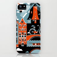 iPhone 5s & iPhone 5 Cases featuring Amsterdam by koivo