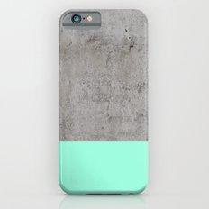 Sea on Concrete Slim Case iPhone 6s