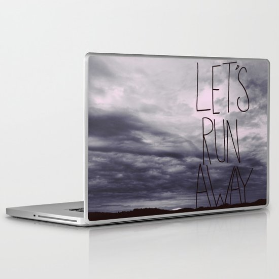 Let's Run Away VI Laptop & iPad Skin