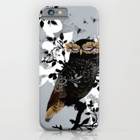iPhone & iPod Case featuring Wise Owl by Million Dollar Design