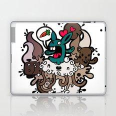 Rabbit Nightmare! Laptop & iPad Skin