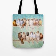 Birds Birds Birds Tote Bag