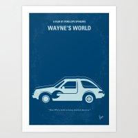 No211 My Waynes World Mi… Art Print