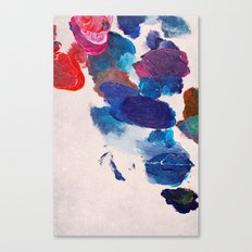 Painter's Palette Canvas Print