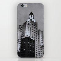 Dusk in Providence iPhone & iPod Skin