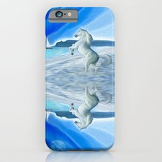 My Design - Beach with moon and horse Slim Case iPhone 6s