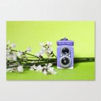 Mini Camera Bi Optics Canvas Print