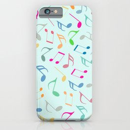 iPhone & iPod Case - Music Colorful Notes - KAPS Studio