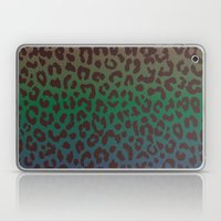 LEOPARD Hue-TAUPE GREEN … Laptop & iPad Skin