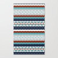 Navajo Pattern Canvas Print