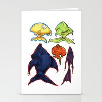 Fishy fishes Stationery Cards
