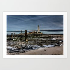Across the Beach Art Print