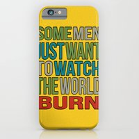 Watch the world burn. iPhone 6 Slim Case