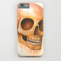 Deaths Grinning Head iPhone 6 Slim Case