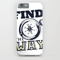 iPhone & iPod Case featuring Find the Way by Siro Honório