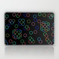 Hexagon Darkness Laptop & iPad Skin