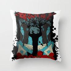 The Oddity Twins Throw Pillow