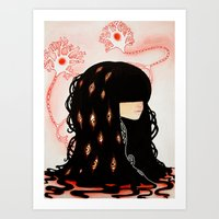 GABA GABA HEY - Neurons,… Art Print