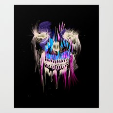 Face Illustration 5 Art Print