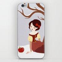 Skin White as Snow iPhone & iPod Skin