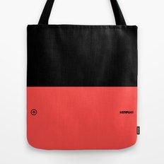 Infrared Black Tote Bag