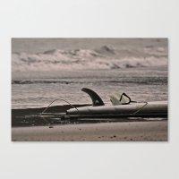 Surfboard 1 Canvas Print