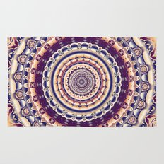Abstractions in colors (Mandala) Rug