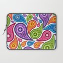 Crazy Paisley Laptop Sleeve