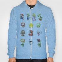 Mario Characters Waterco… Hoody