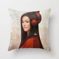Pepper Orient Throw Pillow