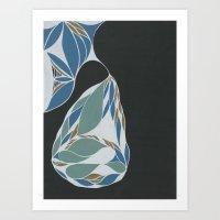 Apartment Pear #9 Art Print