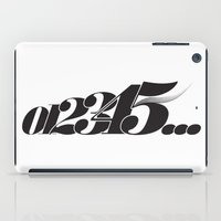 Numbers iPad Case
