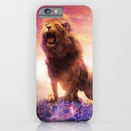 Roaring Space Lion iPhone 6 Slim Case