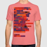 Amazin' (86 Mets) Mens Fitted Tee Pomegranate SMALL