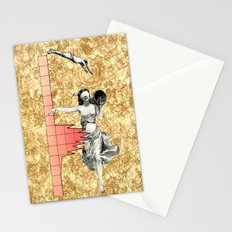 Take The  Leap Stationery Cards