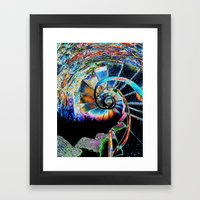 Stairway to Infinity Framed Art Print