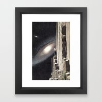 Beautiful Cosmos Framed Art Print