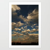 The Sky is Endless Art Print