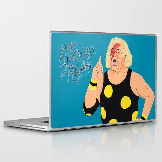 Ziggy StarDusty Rhodes Laptop & iPad Skin